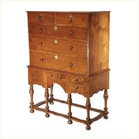 Cawnpore Tallboy,British ,Colonial ,Burma Teak ,Chest of Drawers ,Bedroom ,Antique