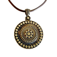 Circles and Hearts Pomander Necklace
