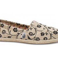 Embroidered Floral Women&#x27;s Classics | TOMS.com