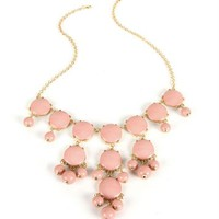 Peach Bubble Necklace
