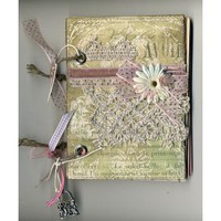 Handmade scrapbooking notebook - Handmade jewellery, gifts, toys and decor - Magic Sunday
