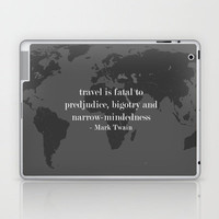 World Travel Laptop & iPad Skin by Upperleft Studios | Society6