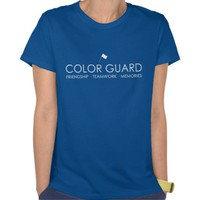 Modern Color Guard T-Shirt from Zazzle.com