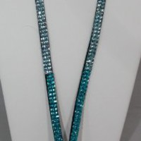Brand New-December Diamonds Turquoise ,Pale Aqua, to