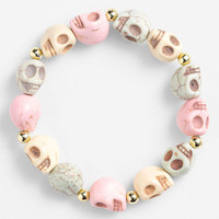 Pastel Skull Bracelet