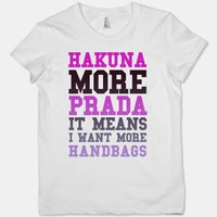 Hakuna More Prada (Washed Out) | HUMAN