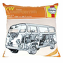 Haynes VW Camper Van Cushion - Gifts For Him from the gifted penguin UK