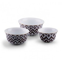 Ikat Nesting Bowls (set of 3) - Home & Decor