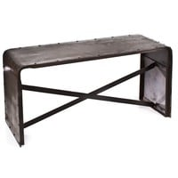Iron Low Sofa Table Old Iron Laquer