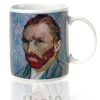 Van Gogh Coffee Mug with Disappearing Ear