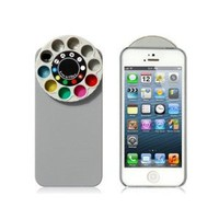Wisedeal Special Effect Filters Wheel & Protective Case for iPhone 5 (Gray) - Amazon.com