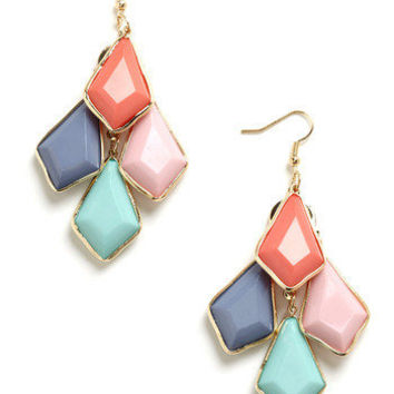 Pastel Pigments Earrings | Mod Retro Vintage Earrings | ModCloth.com