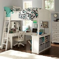 Chelsea Vanity Loft Bed