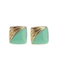 Urban Outfitters - Square Vintage Post Earring