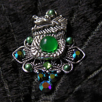 Scarlet's Lounge Tribal Belly Dance Jade Dragon by ScarletsLounge1