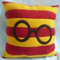 Harry Potter Throw Pillow 12x12 PLACE YOUR by AnitaKleinDesigns