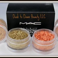 MAC CRUSH METAL PIGMENT STACKED 2! NIB LAST ONE