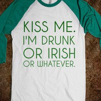 KISS ME I'M IRISH - glamfoxx.com