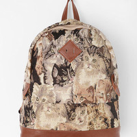 Kimchi Blue Feline Collage Backpack