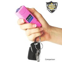 Streetwise SMACK 5000000 Stun Gun Rechargeable Pink SMK5000RP (PLEASE See Shipping Restrictions Bef
