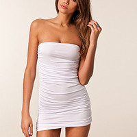 Ruched Detail Slinky Dress, Club L