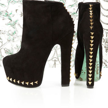 **Shadow Bolt Ankle Boots by CJG - Heeled Boots - Boots - Shoes - Topshop
