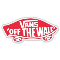 Vans Off the Wall Skateboarding sticker decal 6