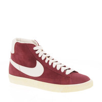 Nike Blazer Mid Burgundy Trainers