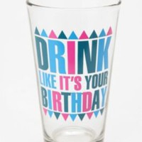 UrbanOutfitters.com > Your Birthday Pint Glass