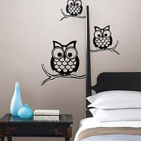 Give a Hoot Owl Decal 