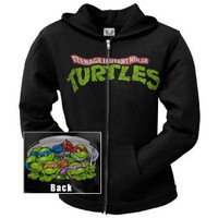 Teenage Mutant Ninja Turtles - Sewer Ladies Zip Up Hoodie