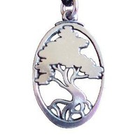 Amazon.com: Pewter World Tree Yggdrasil Yggdrasill Pendant Norse Jewelry Necklace: Everything Else