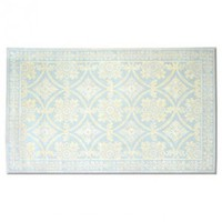 Romantic Lace Blue Wool Rug