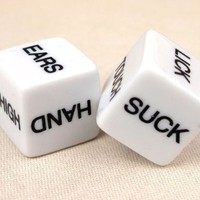 Glow in the Dark Erotic Dice