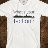 What's your Faction Tee - Daysia Anne Designs