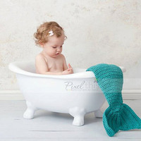 PDF Pattern  Mermaid Tail and Headband Set by BacaCreations