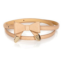 Styling Tips Skinny Bow Belt