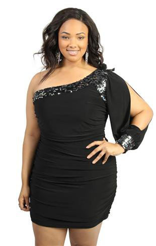 Plus Size Club Dresses Canada - Holiday Dresses