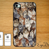 Cats IPhone 5 Case, IPhone 4s Case, IPhone 4 Case