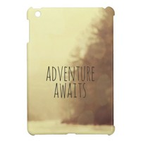 Adventure Awaits II Mini iPad Case from Zazzle.com