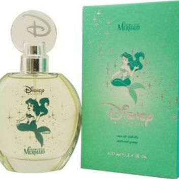 Walt Disney's The Little Mermaid By Disney For Women. Eau De Toilette Spray 3.4 Oz.