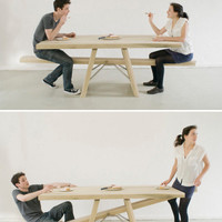 Playing With Your Food: See-Saw Table | Incredible Things