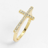 Ariella Collection Pavé Ring | Nordstrom