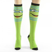 TMNT Teenage Mutant Ninja Turtles Knee High Socks