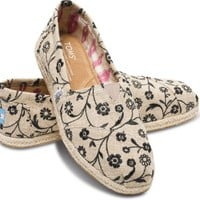 Embroidered Floral Women's Classics | TOMS.com