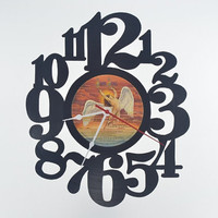 Record Album Wall Clock (artist is Bad Company)