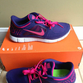 Nike Free Run +3 running shoes size 9 womens new without box display model