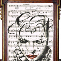 RUGGERO LEONCAVALLO Pagliacci Sheet Music by TreasuresByUs on Etsy