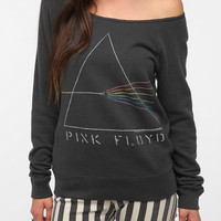 Urban Outfitters - Junk Food Pink Floyd Off-The-Shoulder Sweatshirt