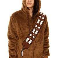 Star Wars Chewbacca Furry Zip Hoodie - 127031